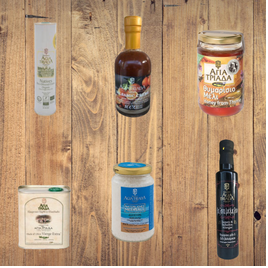Geschenk Set Olivenöl & Balsamico & Fleur De Sel