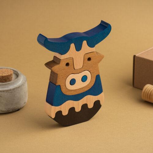 umweltfreundliche Holzdekoraktion der Minotaurus1
