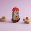 Holzspielzeug aus Griechenland der Spartaner