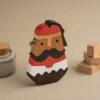Der Tsolias - Holzdekoration1