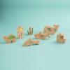 Die Welt der Ozeane, fantasievolles umweltfreundliches Holzspielzeug