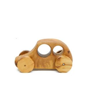 Umweltfreundliches Holzspielzeug Auto der Käfer