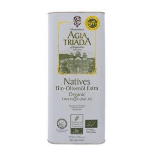 organic olive oil agia triada