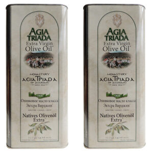 Super Saver Offer 2x 5Liters Organic Olive Oil from Crete from