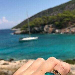 Silber-Ringe & vergoldetes Silber